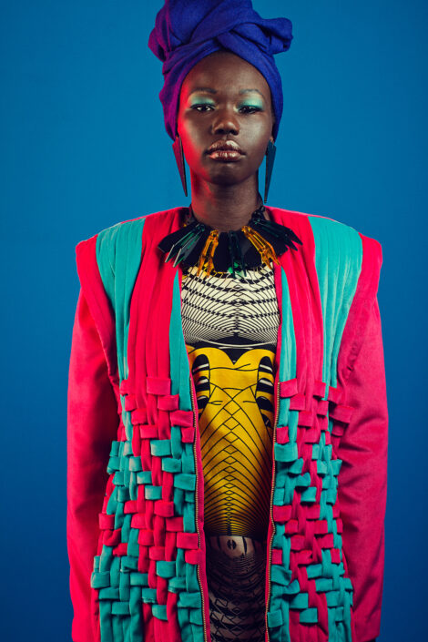 Irene Heldens - African Fashion Week Amsterdam Richard Terborg - Ashlee Janelle Danso - Jennifer Elmzoon - Nella Ngingo - Adut Mawien