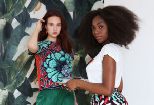 Irene Heldens Strongher Together collection by Mathilde Claesen - Vanessa Ngoma - Lisa Kapper - Alexandra Feo