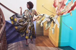 Irene Heldens for Vlisco 170 years anniversary collection by Petrovsky & Ramone - Ovo Drenth - Maarten Spruyt
