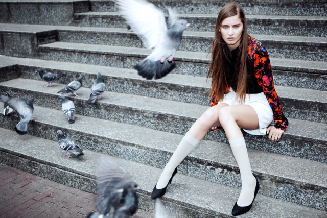 Irene Heldens shoot by Ellen van Bennekom - Soraya Basiran Lonely city