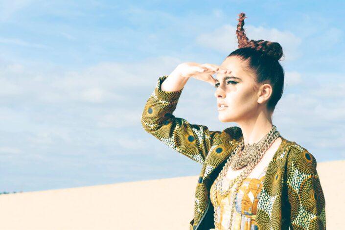 Irene Heldens shoot by Gitte Broekmeulen Desert